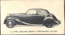 Kellogg - Motor Cars, black and white - 29 - 3½ Litre Jaguar Mark V Drophead