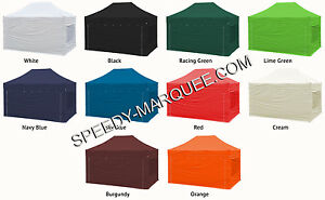 Quality easy pop up marquee, trade stand, gazebo - equestrian, sports, 4.5m x 3m