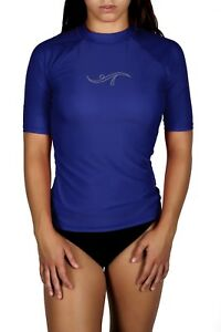 Adoretex Women's Plus Size Rashguard UPF 50+ Swimwear Swim Shirt