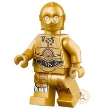 LEGO STAR WARS MINIFIGURA C-3PO SET 75136 75159 75173 75192 ORIGINAL MINIFIGURE