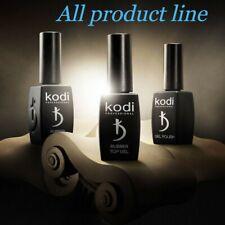Kodi Professional Rubber Base No Sticky Top Coat 8 12 14 30 35 ml Nail Fresher