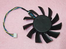 75mm NVIDIA GTX 460 550 TI 560 Fan Replacement 4Pin AVC DASA0815R2U DC 12V 0.6A