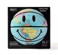 Chinatown Market Smiley Basketball Globe Regulation Size 29.5 Inches