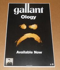 Gallant Ology Poster 2-Sided Original 2016 Promo 11x17
