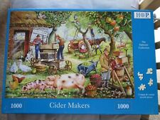 CIDER MAKERS 1000 piece jigsaw puzzle by HOP House of Puzzles