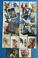Lovely Collection of 20 Amy Brown Fairies Art Postcards, Brand New Old Stock