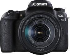 Canon EOS 77d Cámara Réflex 24 2mp objetivo Ef-s18-135mm con WiFi y Bluetooth