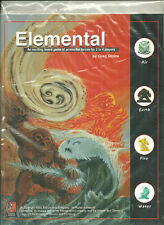 ELEMENTAL: An Exciting Game of Primordial Forces; Kenzer Games; brand new cond