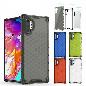 For Samsung Galaxy Note 10 Plus AMZER Shockproof Bumper Slim Hybrid Case Cover