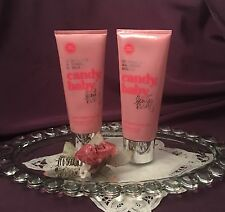 ~Rare! Set Of 2 Victoria's Secret Beauty Rush ~ Candy Baby ~ Body Drink Lotions~