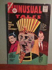 Charlton Comics UNUSUAL Tales #43  4.0