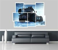 Huge Collage View Nuclear Powered Vehicle Wall Stickers Wallpaper 1030