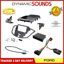 Double Din Stereo Fascia, Stalk, Aerial Fitting Kit for Ford Transit V363 2015>