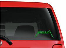 Metallica cut vinyl window/bumper sticker