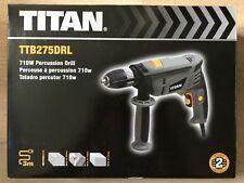 Titan TTB275DRL 710W Percussion Drill 230-240v - New, Sealed