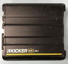 Kicker CX 600.1 Monoblock Class D Car Amp Amplifier Black