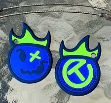 SCOTTY CAMERON Gallery Exclusive HOT HEAD HARRY Circle T KEY FOB •NEW Blue/Lime•