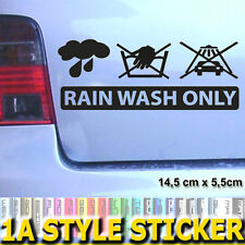 RAIN WASH ONLY aufkleber hand wash only the shocker milf dub oem felgen dip 424