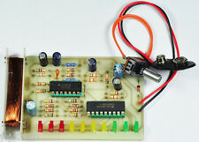 EMF Stray Magnetic Fields Basic Detector Assembled Electronic Student Project
