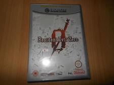 Resident Evil Zero Gamecube Game Cube Nintendo PAL