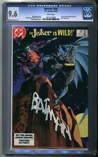 Batman #366 1st Jason Todd in Robin Costume  - DC 1983 CGC 9.6 White Pages