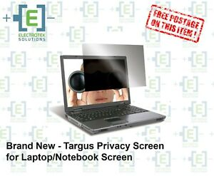"""BRAND NEW - Targus Privacy Screen for 15.6"""" 16:9 Laptop/Screen"""