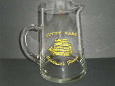 CUTTY SARK SCOTCH WHISKEY GLASS PUB JUG / PITCHER