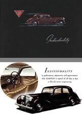 Alvis 1948 - Alvis Individuality - Alvis Fourteen