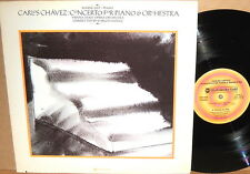 WESTMINSTER GOLD Chavez EUGENE LIST Concerto for Piano WGS-8324