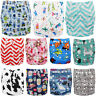 Washable Baby Infant Pocket Nappy Cloth Reusable Diaper Waterproof Cover Wrap
