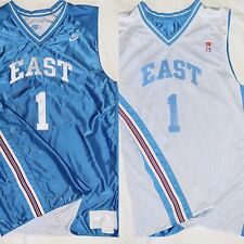 Nike Supreme Court Basketball Jersey Mens Large East #1 Reversible Stitched Unc