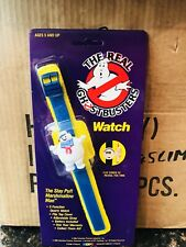 Vintage The Real Ghostbusters Stay Puft Marshmallow Man Watch MOC 1989