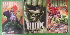 Hulk Volume 1 2 3 Omega Hulk Book 1+2 Who Shot Bruce Banner - Marvel
