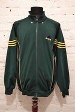 90s Vintage Mens ADIDAS ORIGINALS Green Tracksuit Track Top Jacket Size M