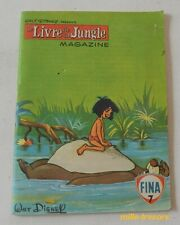 Le LIVRE de la JUNGLE Magazine N°7 - WALT DISNEY Productions 1968 - FINA - BD