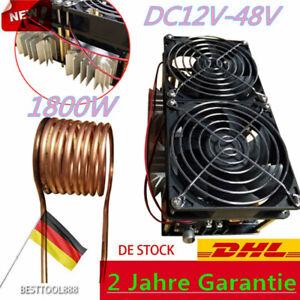 1800W 40A ZVS Heizung Heater Netzteil Mit Schlauch Induktions Heizmodul Neu
