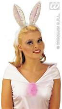 Sequin Bunny Ears For Playboy Girl Sexy Easter Rabbit  Fancy Dress