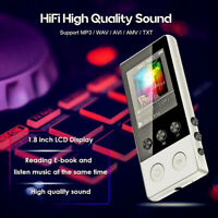 Portable bluetooth MP3 Player Music 5D Voice Hi-Fi Lossless Sound FM Radio