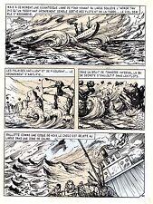 TAROU CONTRE LES SOLDATS JAPONAIS (BOB DAN) PLANCHE ORIGINALE AREDIT  PAGE 42