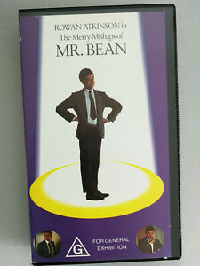 The Merry Mishaps of Mr Bean VHS Video Tape Rated G Rowan Atkinson