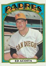1972 Topps - Ed Acosta #123 - San Diego Padres (NM/Mint)