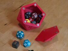 Magnetized Dice Box Dice Cup DnD Dice Tower D6 D8 D12 D20 Tabletop Wargame
