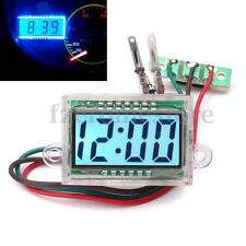 Digital LCD Dashboard Auto Clock time DC 12V Waterproof for Car Motorcycle Moto