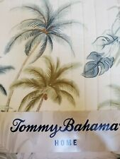 NEW TOMMY BAHAMA SERENITY PALMS TROPICAL HAWAIIAN TWIN  QUILT