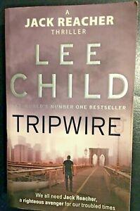 Tripwire by Lee Child - a Jack Reacher novel