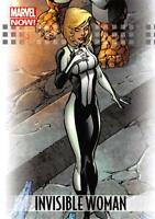 INVISIBLE WOMAN / 2013 Marvel Now! (Upper Deck 2014) BASE Trading Card #44