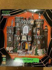 RARE Lemax Black Castle New In Box