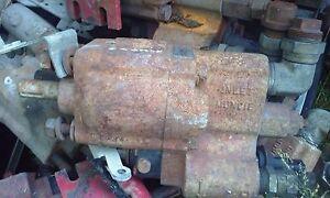 Hydraulic PTO Dump Gear Pump  Munice e2xl-27-1rprb 2500psi Keyed