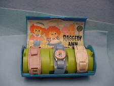 Raggedy Ann & Andy Character Watch by Bradley in the Original Box c.1971
