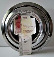 New listing Smart Choice 6 in. and 8 in. Range Drip Bowl Set in Chrome